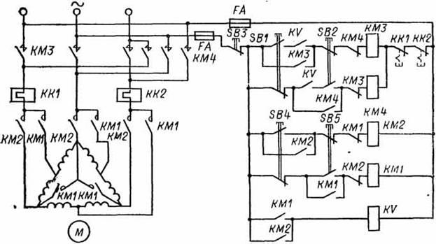 асинхронного двигателя